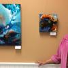 Artist Linda Murray