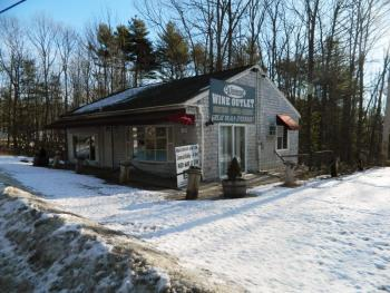 The Wiscasset Wine Outlet auctioned off earlier this week will once again become a restaurant, according to new owner Cecilio Juntura. CHARLOTTE BOYNTON/Wiscasset Newspaper